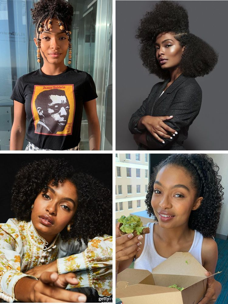 Sensational 50 Hottest Black Celebrity Hairstyles New Natural Hairstyles Celebrity Hairstyles Hair Styles African Hairstyles