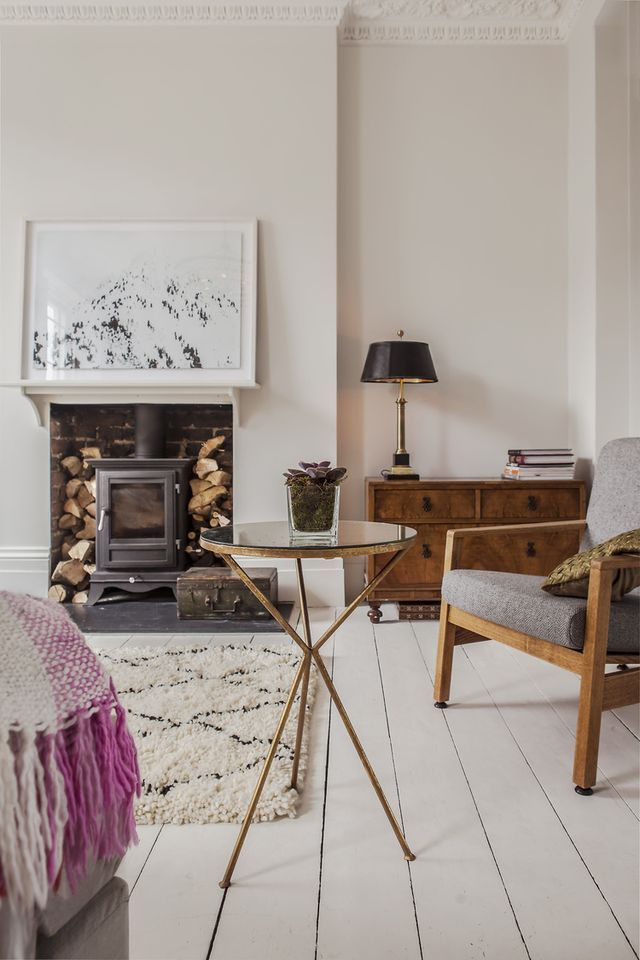This Beautiful Light Filled Georgian Townhouse In Central London Was Redesigned With A Scandinavian Flair Love The Results