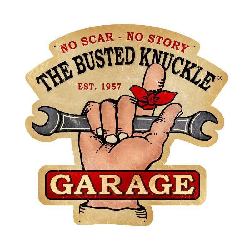 Blechschild Gasoline Garage Werkstatt  Oldtimer Auto Car Service Metallschild