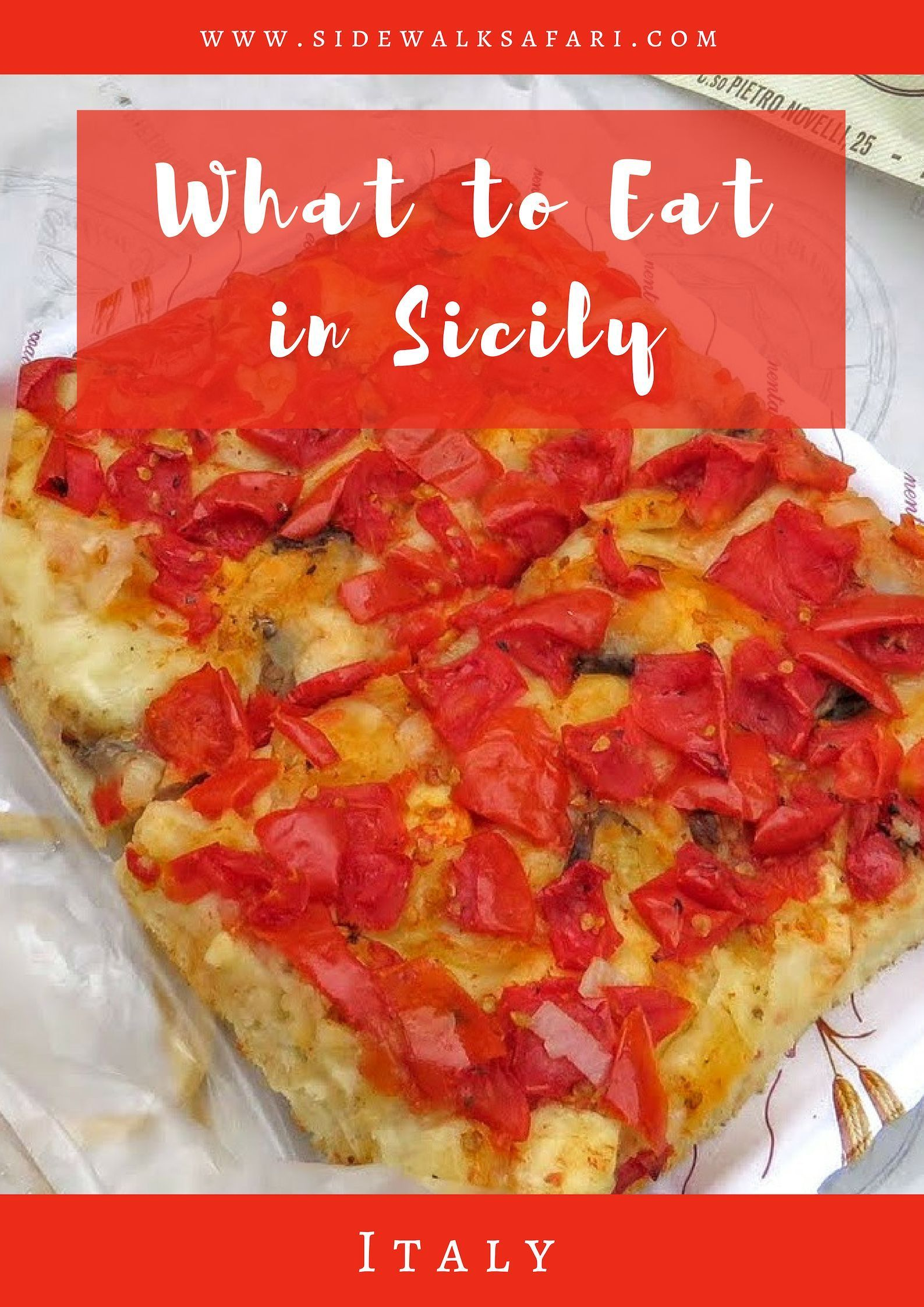 What to Eat in Sicily Traditions, Sweets and Adventurous