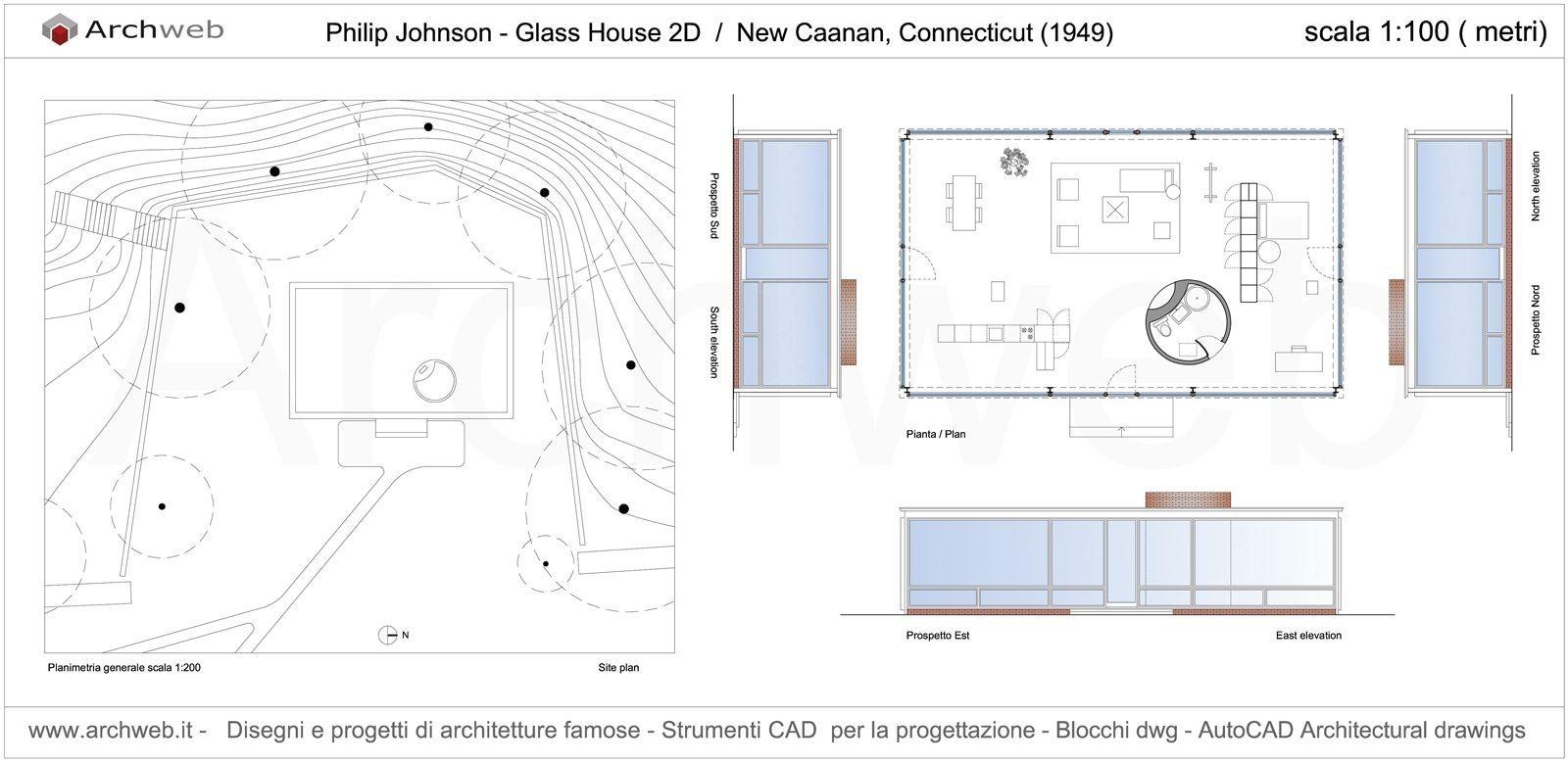 Glass Johnson Arch Philip Johnson Throughout Modest The Glass House Floor Plan Ideas Tasarim Bina