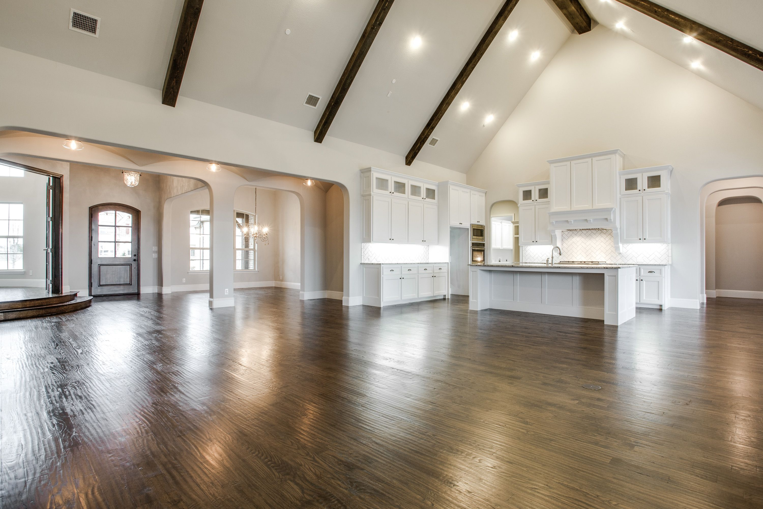 Beautiful Open Concept Floor Plan By Shaddock Homes