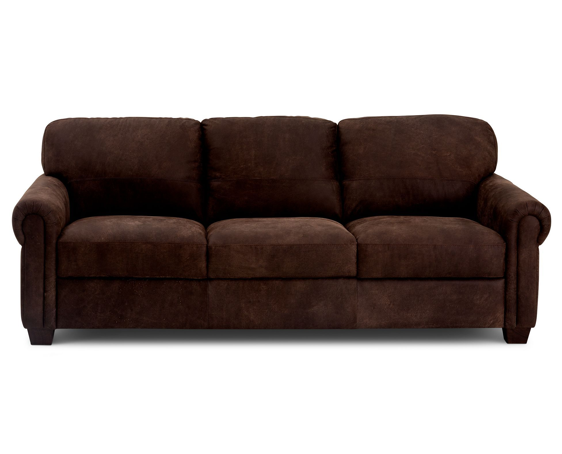Get Clearance Pricing On The Gabbiano Sofa In Italian Leather For