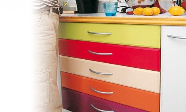 Comment bien repeindre un meuble en MDF laqué ? Bricolage and Kitchens
