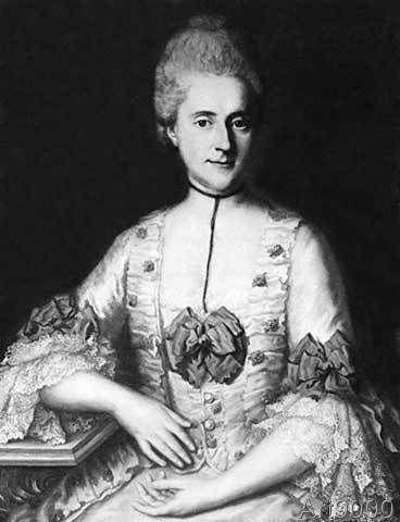 Georg Desmarées - Eva König Lessing / Painting / 1772 (81 ...