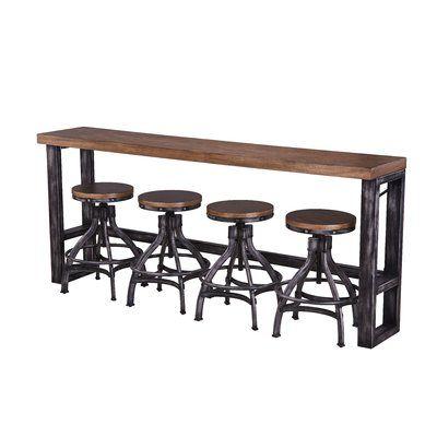 Sensational Williston Forge Wellman Pub Table In 2019 Pub Table Sets Bralicious Painted Fabric Chair Ideas Braliciousco