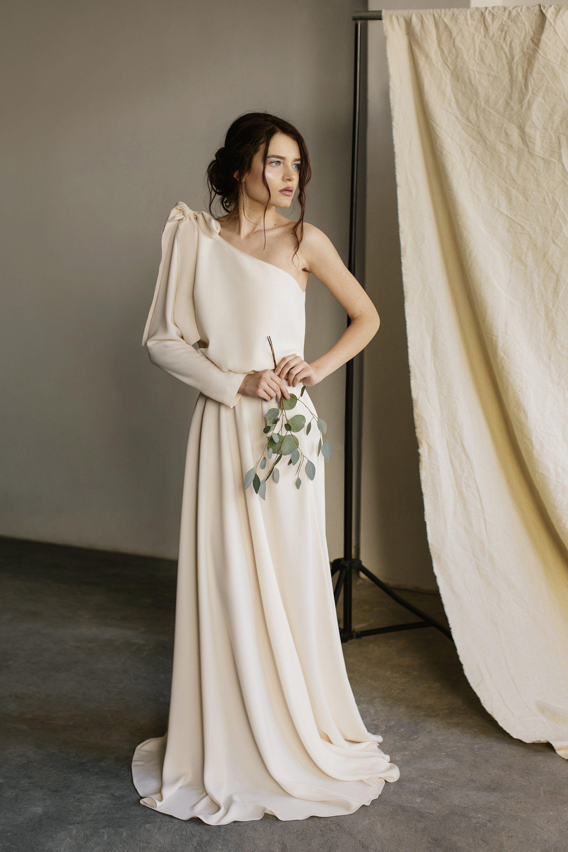 Zwei Stück Hochzeitskleid einfache Hochzeitskleid lässigE  Etsy
