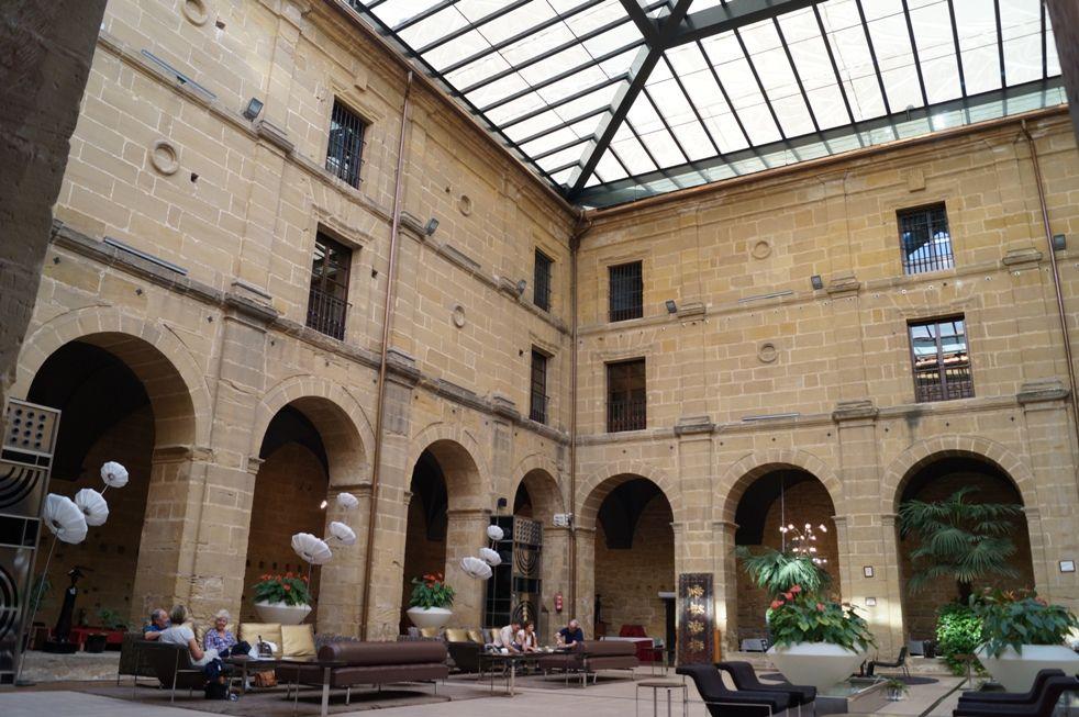 Claustruo del Hotel de Los Agustinos