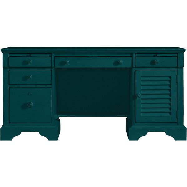 Stanley Furniture Belize Teal Computer File Desk 2 463 Liked