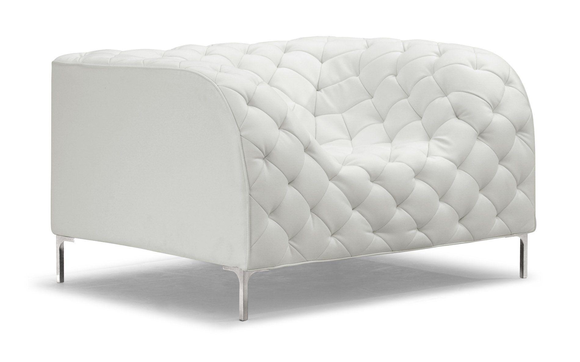 Plush Modern Armchair Xmz 172009 White Armchair Furniture Modern Lounge Chairs