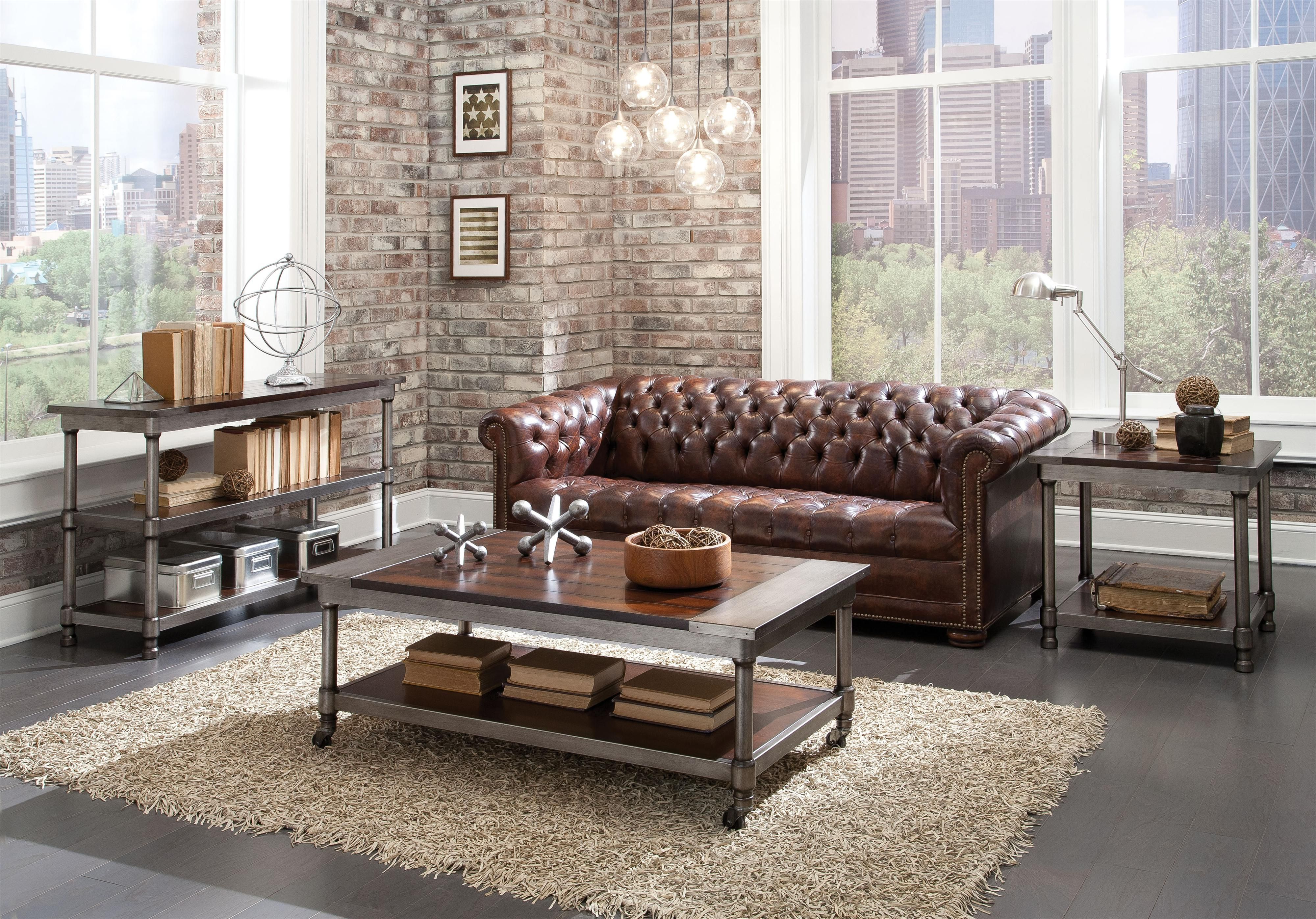 Standard furniture hudson console table del sol furniture sofa console tables geotapseo Image collections