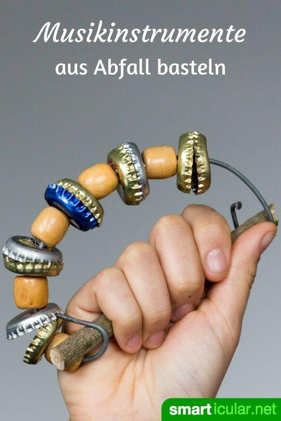 Photo of Musik aus Müll: 6 Kinder-Musikinstrumente aus Abfällen basteln