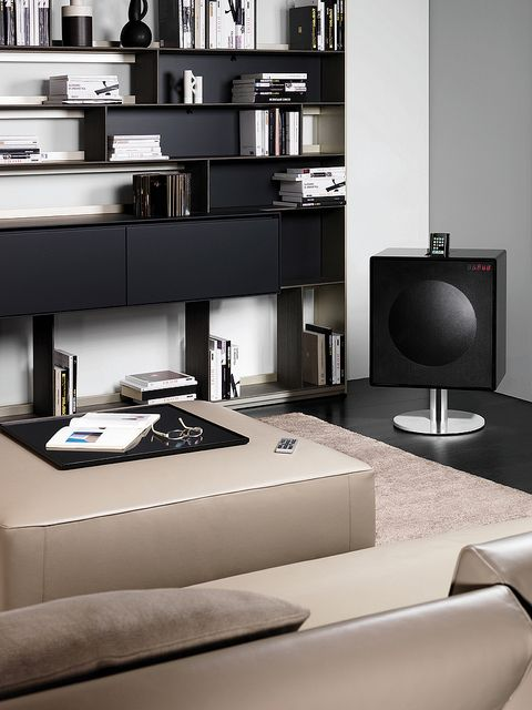Ordinaire Geneva Model XL HiFi System   The GenevaSound XL Is A Very Powerful  Complete Stereo System, Crafted In A Single Cabinet Made Out Of Piano  Lacquered Wood.