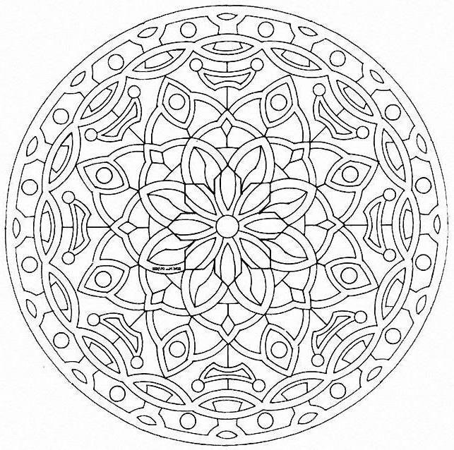 rsultat de recherche dimages pour mandala imprimer - Dessin Mandala Imprimer