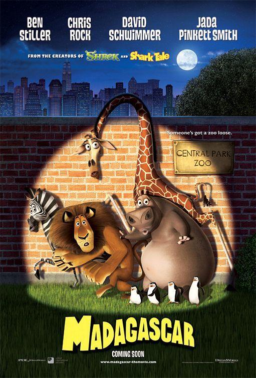 Movie Poster Inspiration Madagascar Filmes Filmes De Animacao