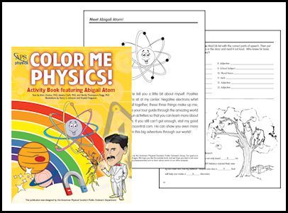 Color Me Physics Coloring Book download #homeschool #science #teach ...
