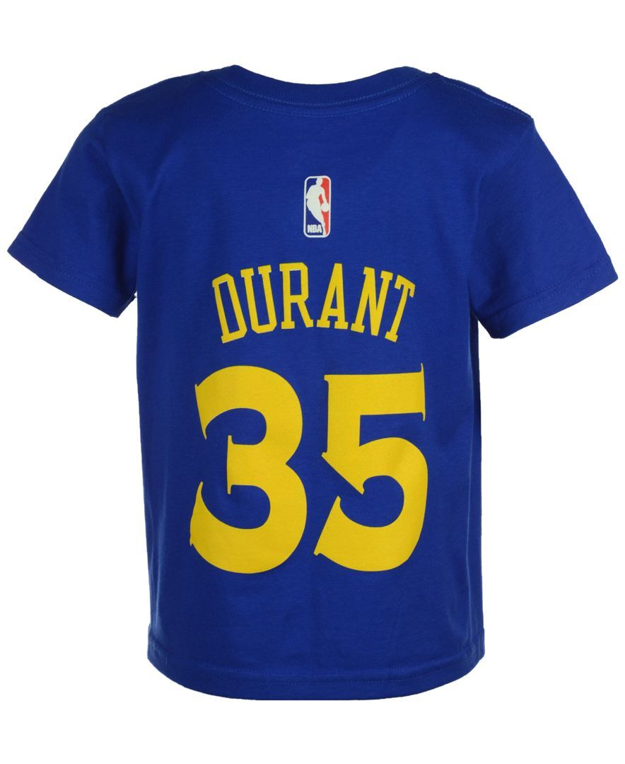 a4b13f563 adidas Kids  Kevin Durant Golden State Warriors Name And Number T-Shirt