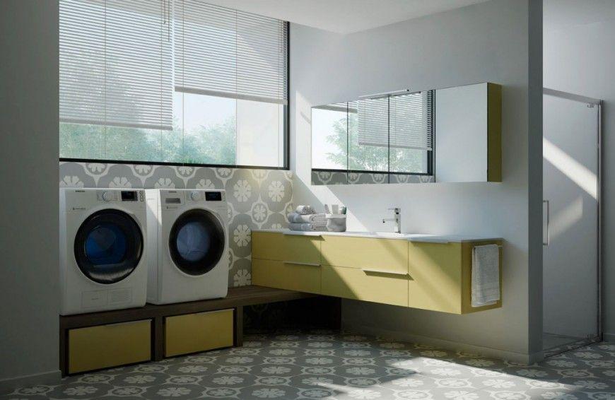 Render bagno lavanderia spazio time per ideagroup virtual by neiko