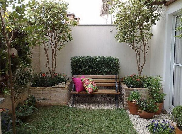 Resultado de imagen para como arreglar patios peque os for Decoracion de jardines chicos
