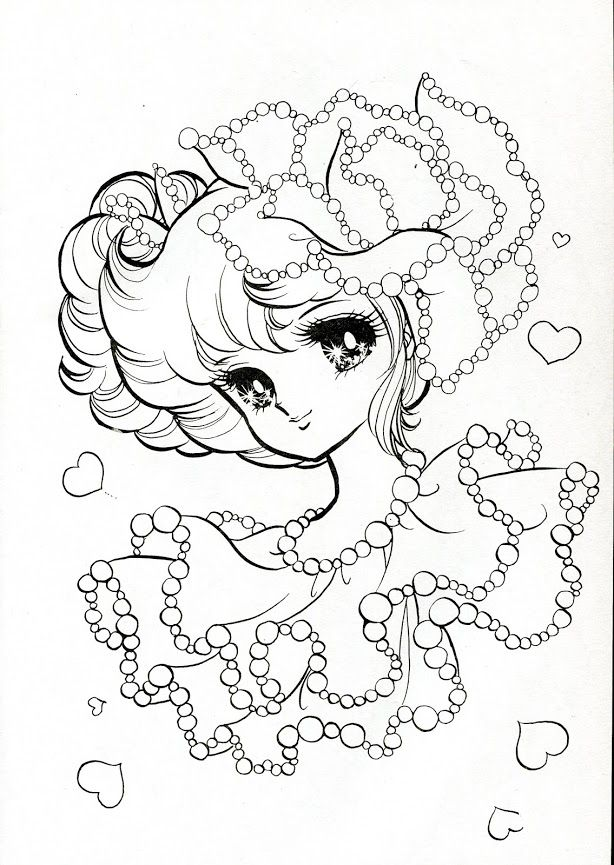 Vintage Japanese Coloring Book 6 | colouring page | Pinterest