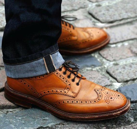 4e83e0a5f5f77 Loake 1880 Brogue - What a classic | Style | Shoe boots, Mens ...