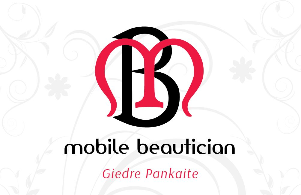 The Mobile Beautician Business card (Front) | Logos / Corporate ...