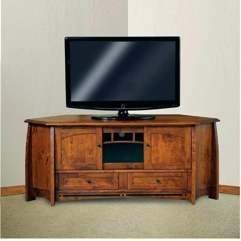 Free Standing Corner Tv Wall Units Mission Style