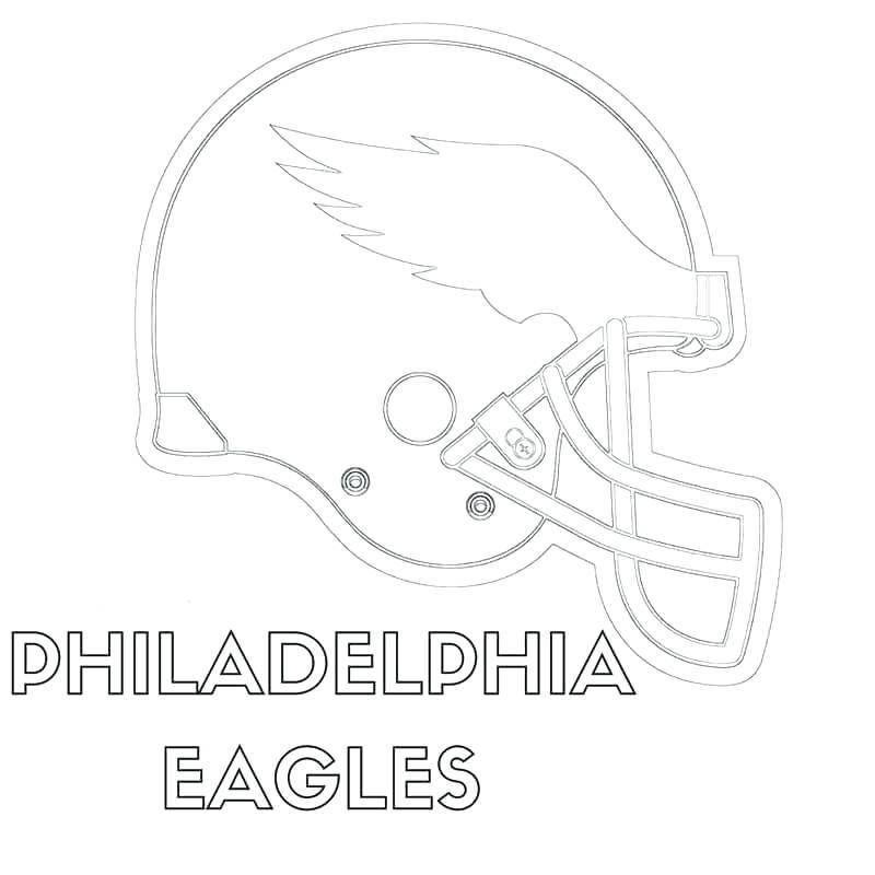 Grab Your New Coloring Pages Eagles Football For You Https
