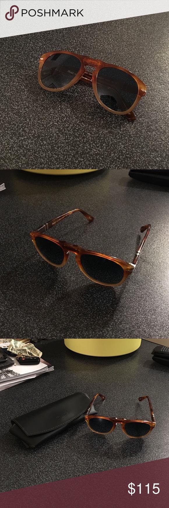 Persol 649 sunglasses size 49/20/135 Unisex Super stylish, tortoise ...