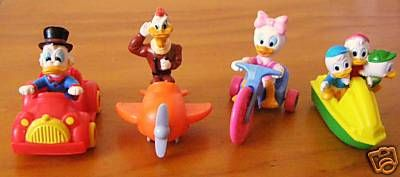 Ducktales happy meal toys! Had them!