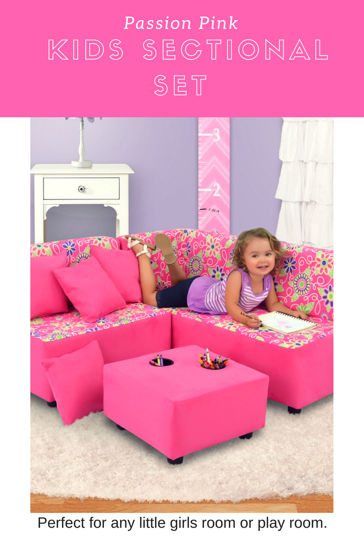 Adorable Kid S Sectional Set Includes Two Bench Seats One Short