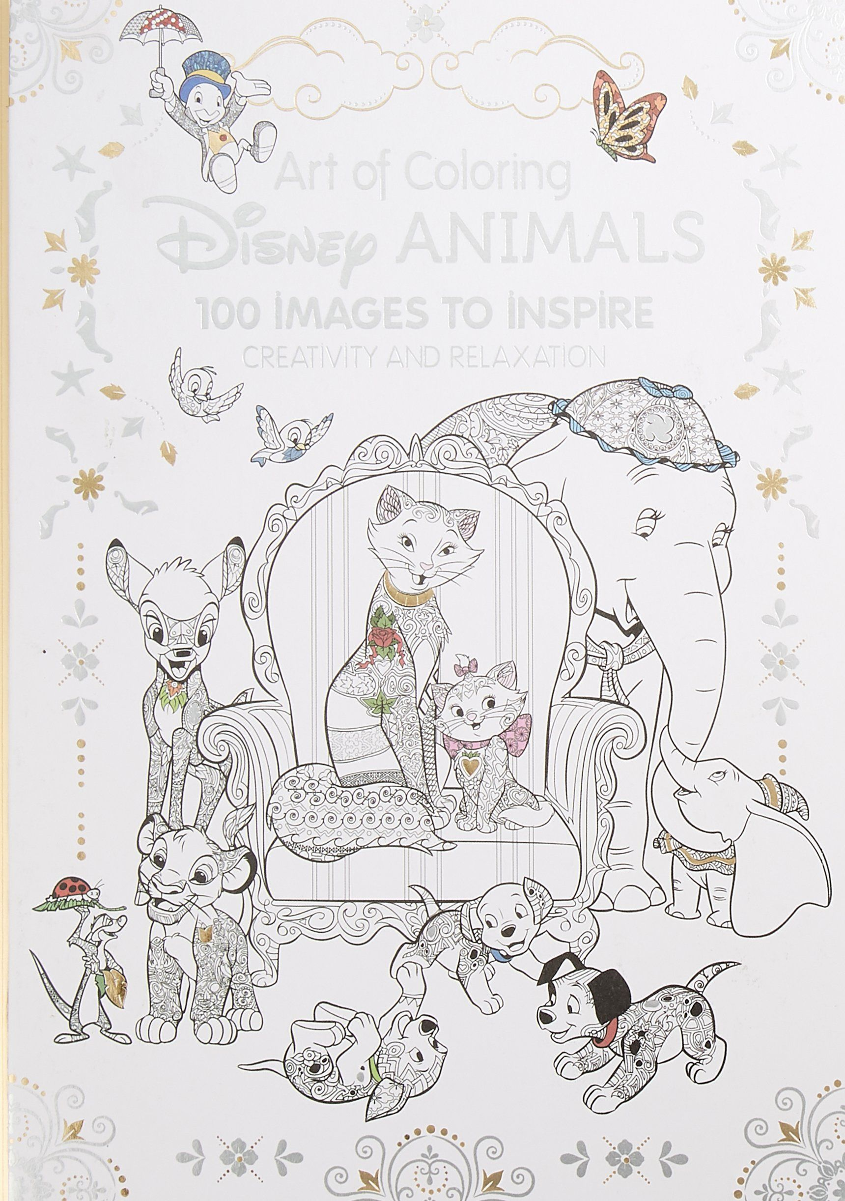 Art of Coloring Disney Animals 100 Images to Inspire