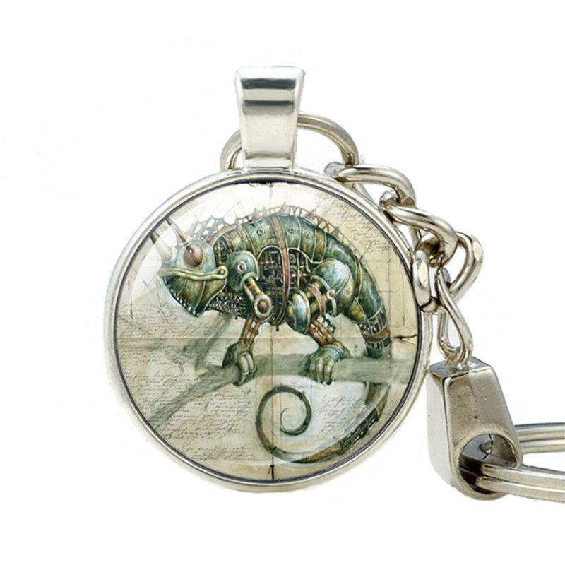 charms Vintage frog glass