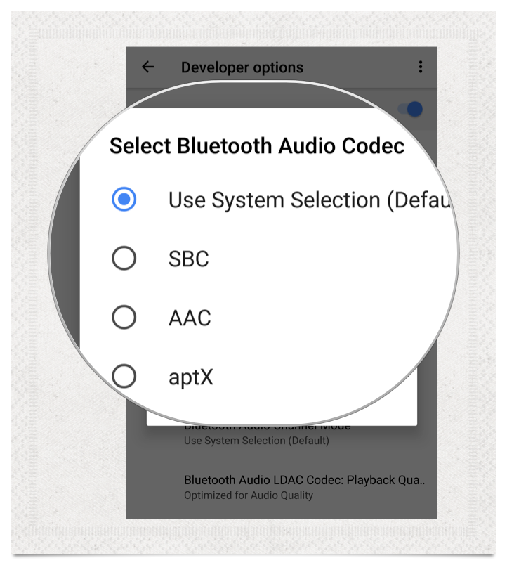 Android O Audio Codec aptX LDAC | Car Audio | Android o, Audio