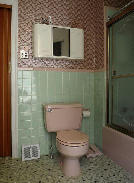 Untitled Green Bathroom Green Bathroom Decor Green Tile Bathroom