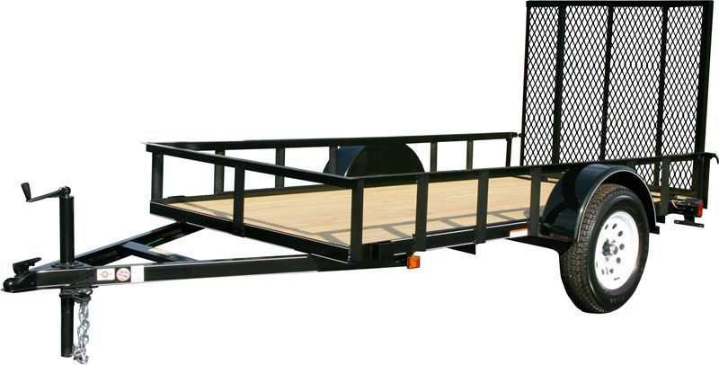 Carry On Trailer 6 X 12 Unassembled Trailer Kit With Gate 6x12gw By Carry On Trailer Corp For 1 299 99 In Trail Utility Trailer Carry On Trailer Trailer Kits
