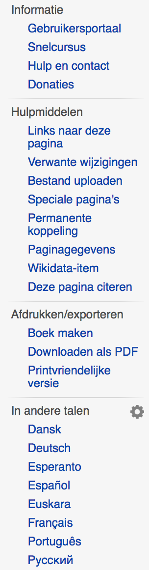 Titled Sections wikipedia.org