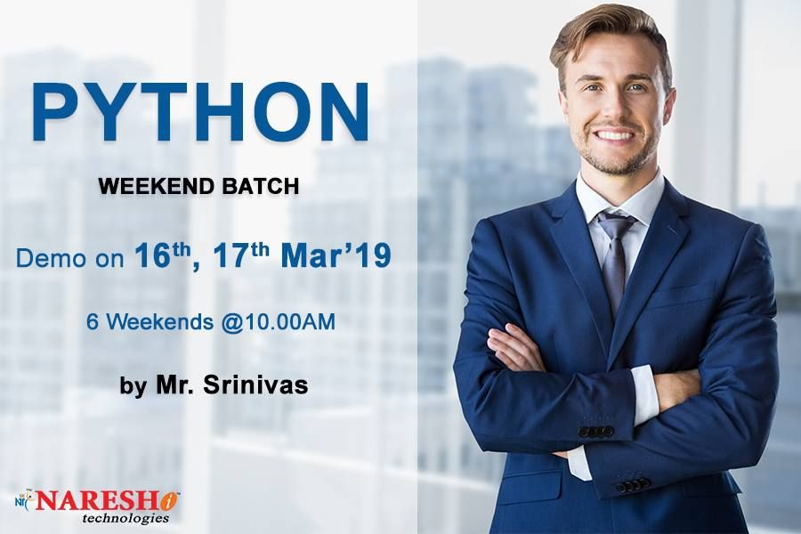 Attend Free Demo On Weekend Batch On 16th &17th March 10