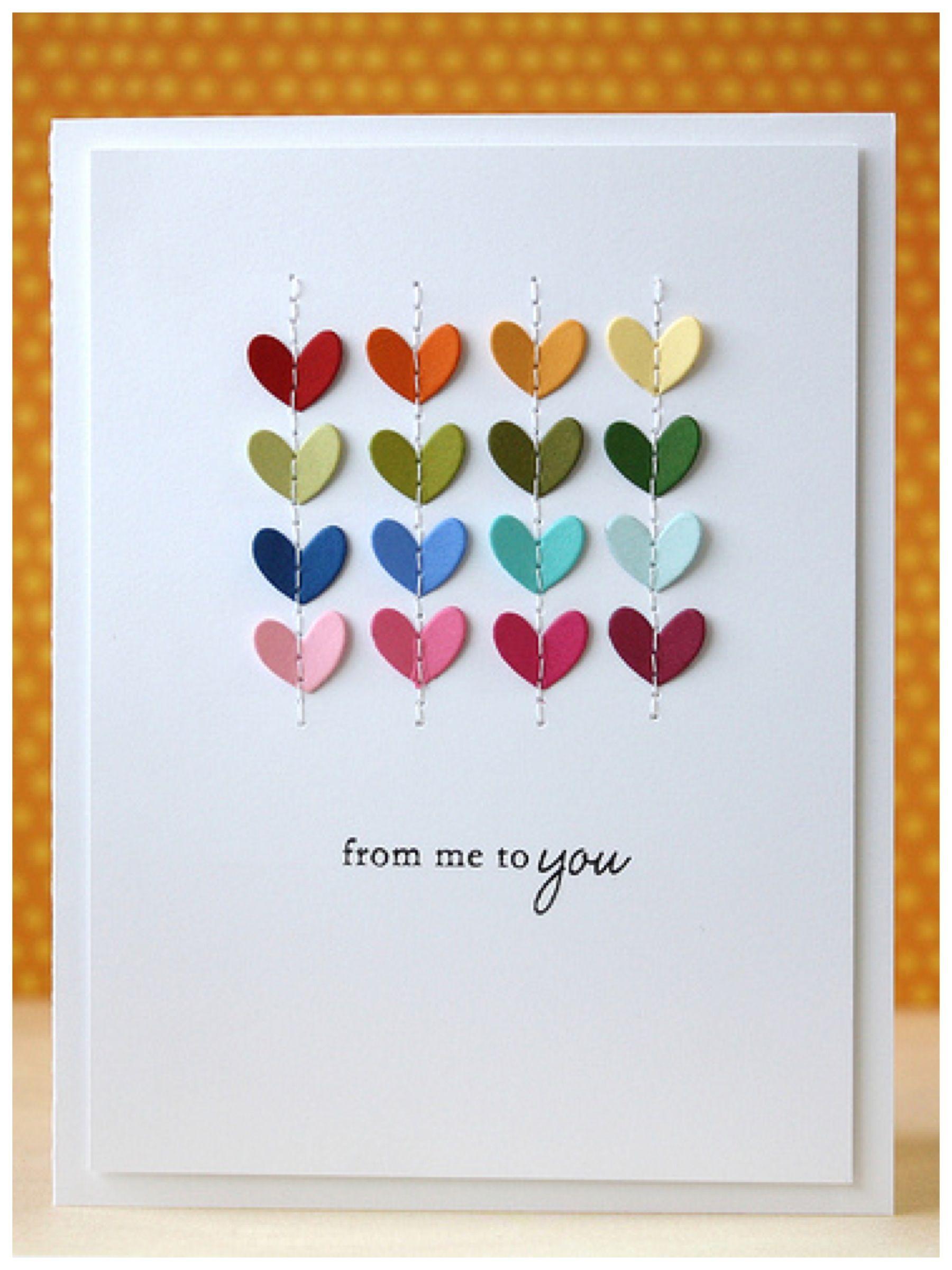 Необычные простые открытки