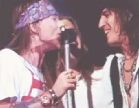 "Izzy on Instagram: ""You gotta make it your own way But you'll be alright now, sugar . . . . . . . . . #axlrose #shannonhoon #izzystradlin #gunsnroses #gnr…"""