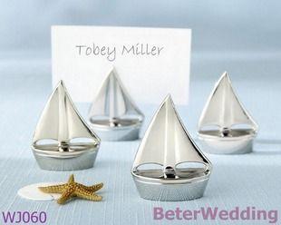 愛之帆金屬席位卡夾 歐美西式婚禮用品 抽獎禮品WJ060