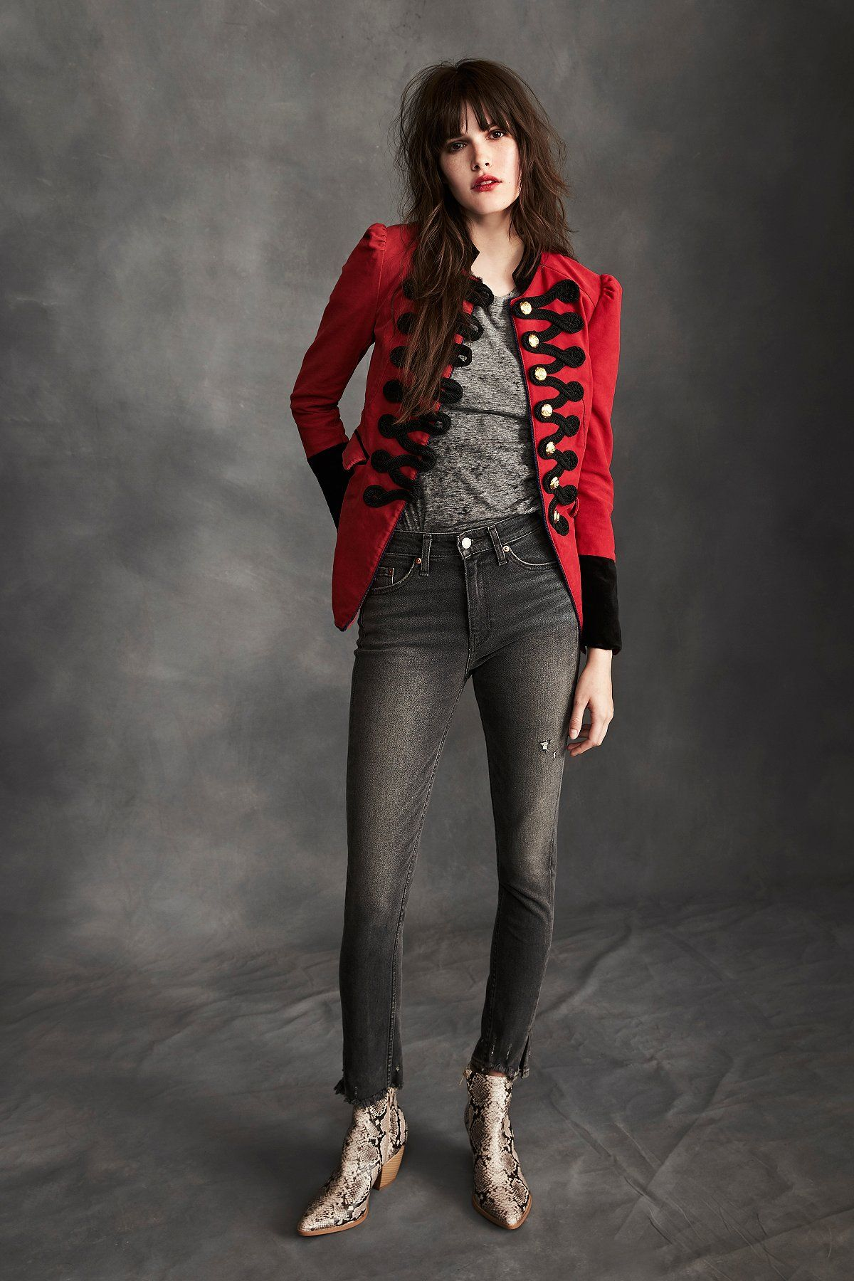 c292fed6 Levi's 721 High Rise Skinny Altered   **Fit:** May run small, we recommend  sizing up. Levi's has deconstructed the classic 721 High Rise Skinny and  altered ...