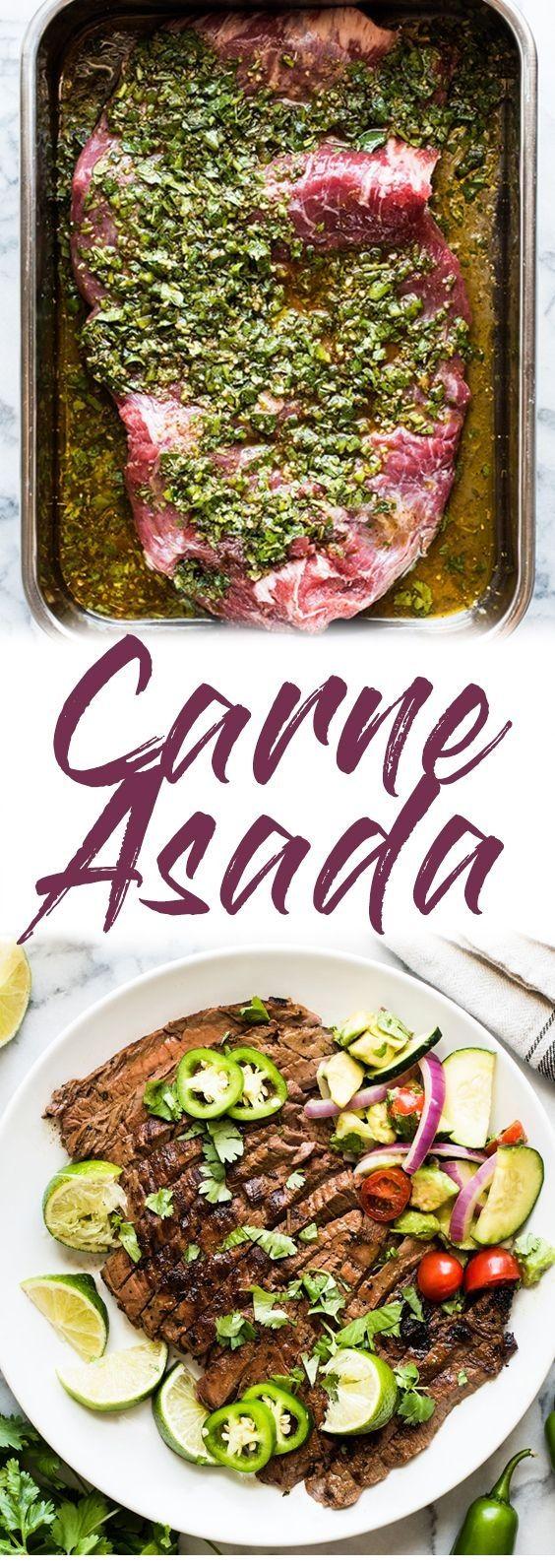 Carne Asada Recipe #beefsteakrecipe