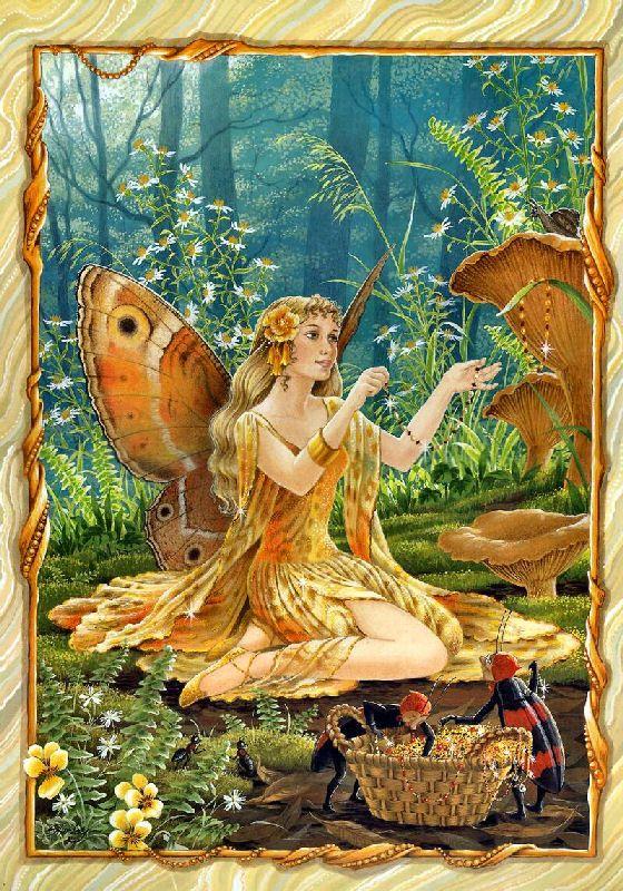 Shirley Barber fairies January