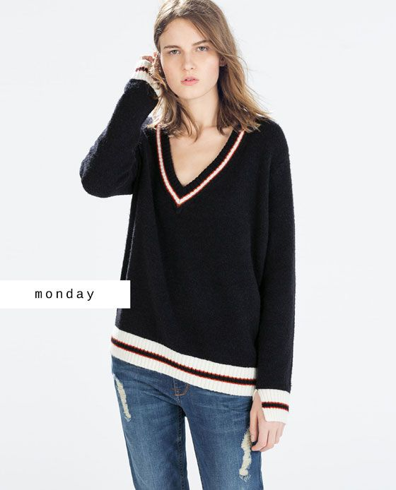#zaradaily #monday #newthisweek #woman #knitwear #aw14