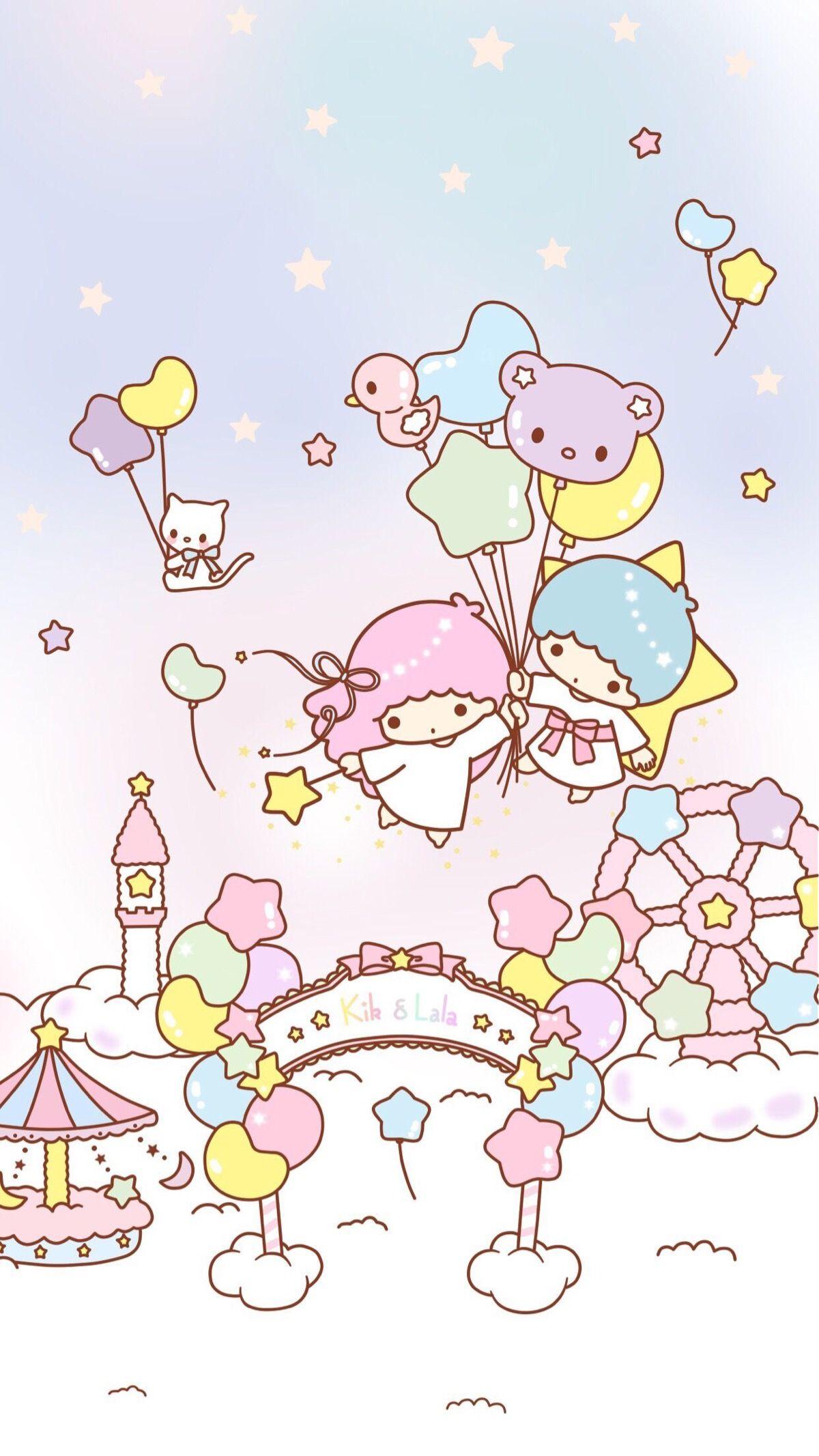 Little Twin Stars キキララ 壁紙 ドラえもん かわいい リトル