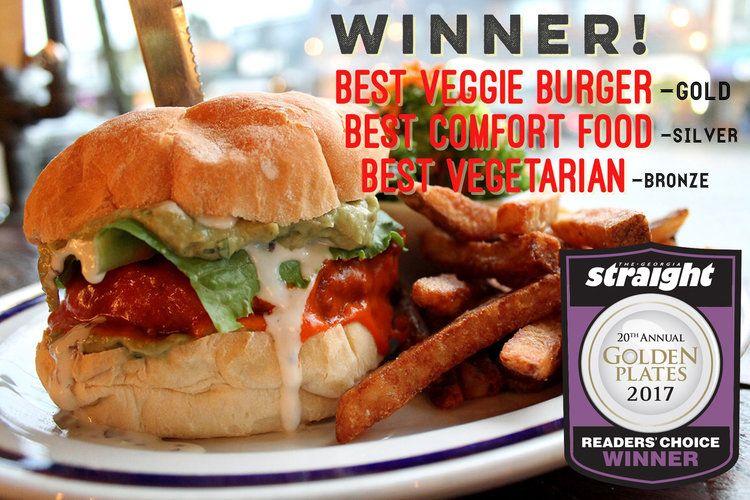 Meet On Main Vegan Restaurant In Vancouver Best Veggie Burger Vegan Restaurants Best Comfort Food