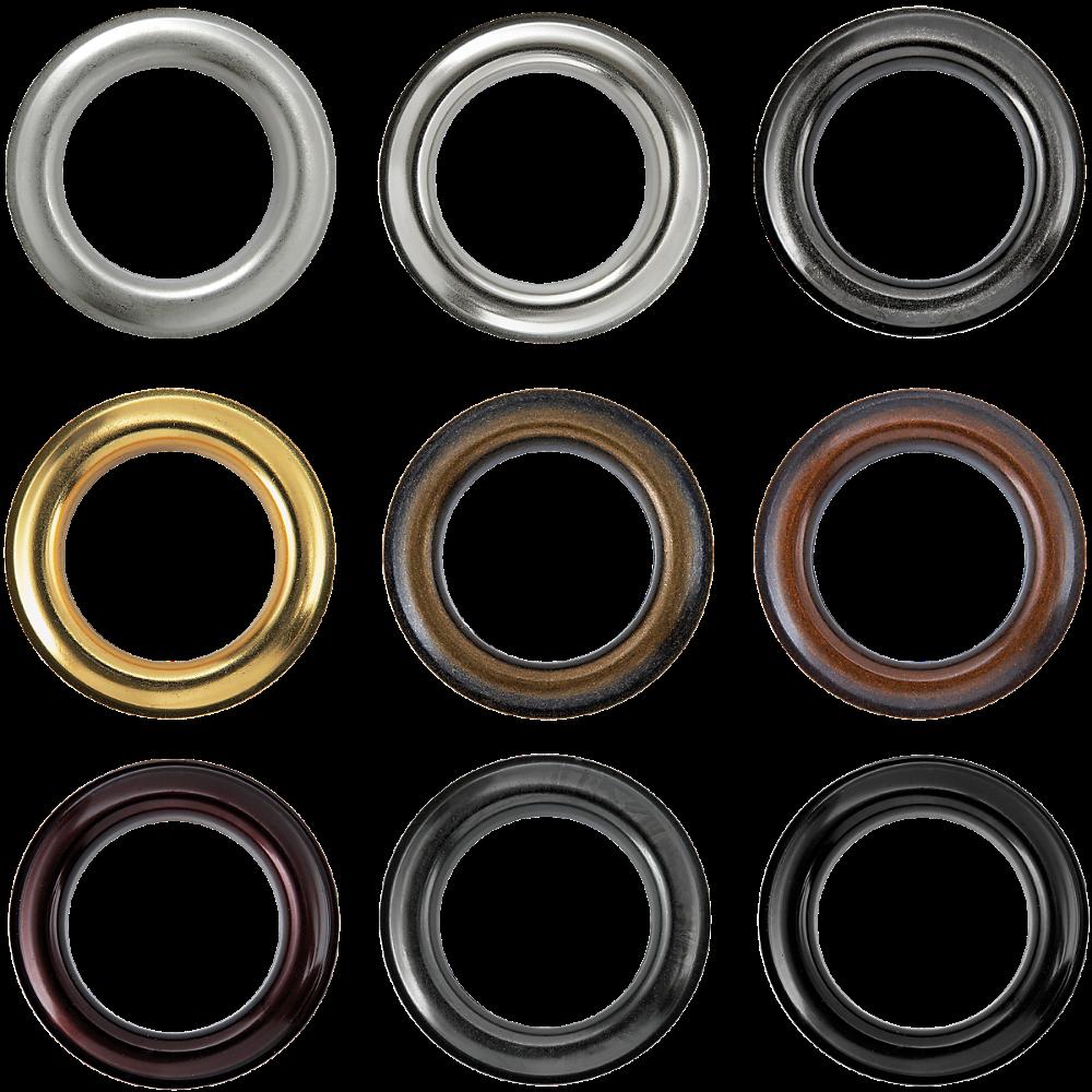 Brass Round Grommets #12 - #20