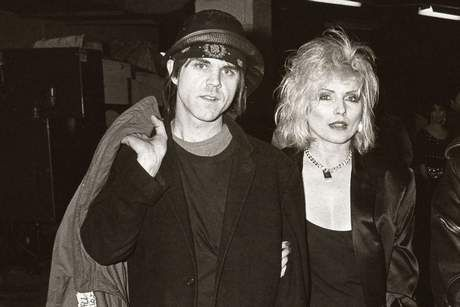 Debbie Harry and Stephen Sprouse