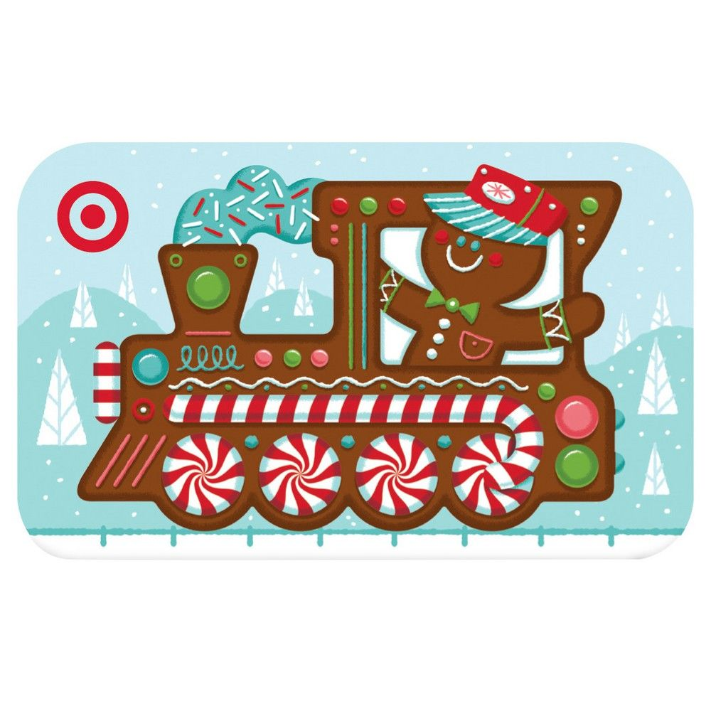 Gingerbread Train Gift Card $30